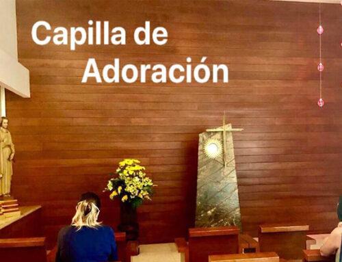 NUESTRA CAPILLA DE ADORACION ES UNICA…