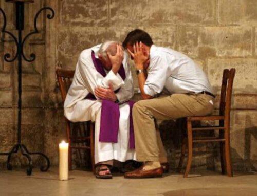 """""""Padre, me acuso de los pecados que no sé si cometí""""."""