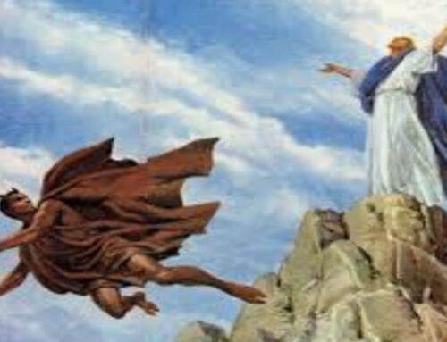 """""""Padre ¿es pecado haber pensado que el demonio es más fuerte que Dios?""""."""
